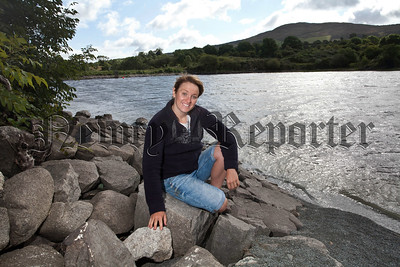 Colleen Mallon,made history swimming the North Channel creating a new Irish Record,Colleen interest in swimming stemmed from Camlough Lake.