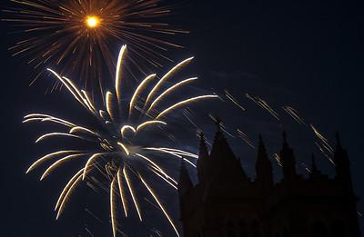 Grosse Pointe Farms Fireworks, 2012