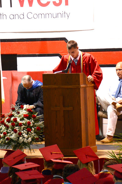 Lutheran West Graduation - Class of 2013  Opening Prayer by Nash Hagen