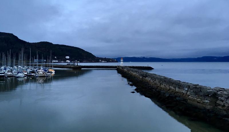 Trondheim early dark