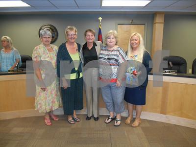 School Board Honors Retirees - June 2014