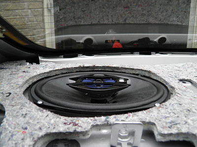 2008 Toyota Camry LE V6 Rear Speaker Installation