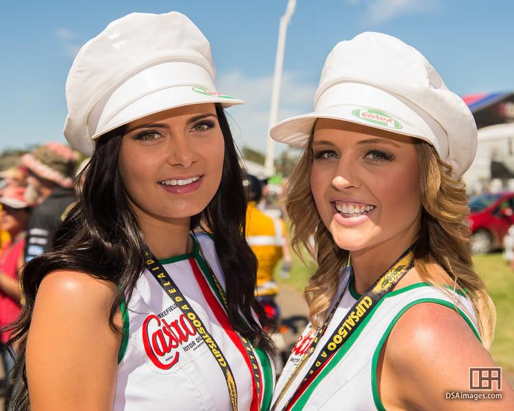 Castrol Motor Oil girls