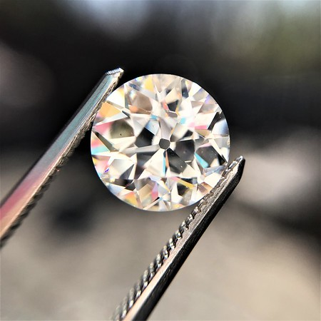 2.07ct Old European GIA I SI1