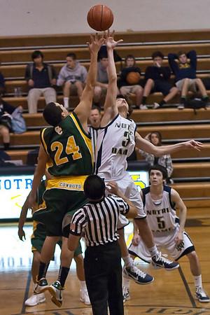 ND Basketball JV Canyon 2010