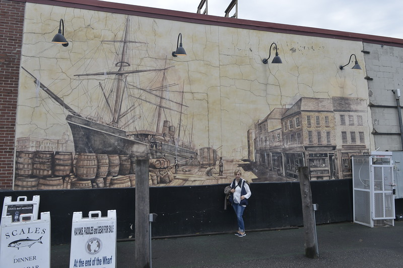 Mural in Portland, Maine