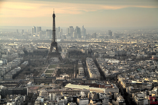 View Eiffel Tower From Montparnasse Tower