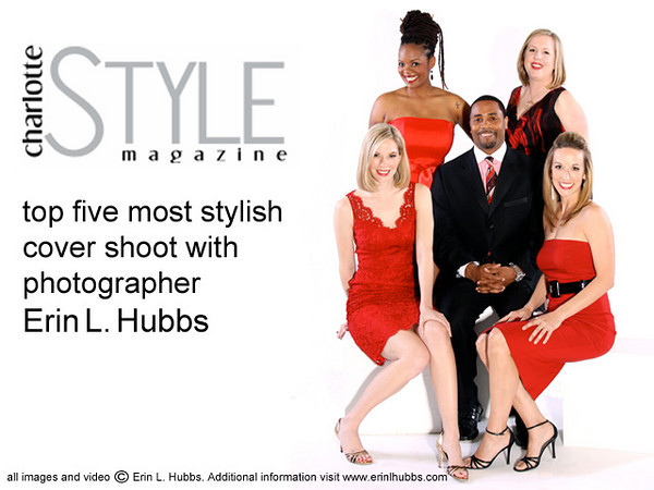 Final Video Charlotte Style Magazine top five cover shoot