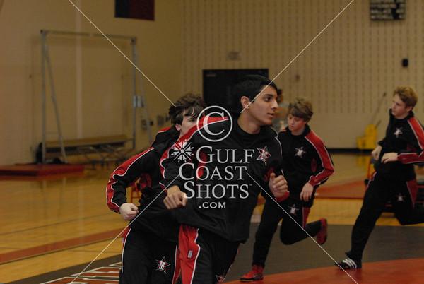 2007-12-12 Wrestling Upper School Seven Lakes @ St. John's