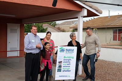 Habitat and First Things First Foundation - Kurt & Brenda Warner Surprise Reveal - November 2016