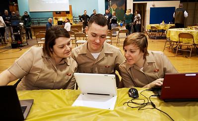 20141127 - Algonquin Sailor visit