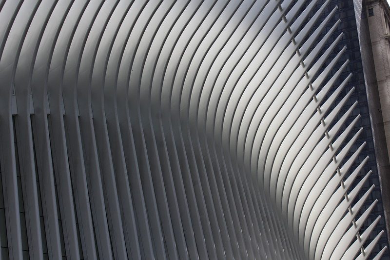 Exterior wall of The Oculus.JPG