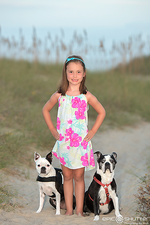 Family Pet, Family Portraits, Avon, Hatteras Island, North Carolina, Epic Shutter Photography