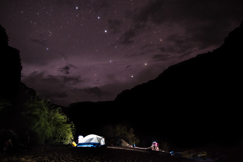 Big Dipper in the Grand Canyon