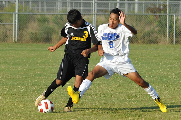 Lincolnton vs Maiden Soccer Sept. 7, 2010