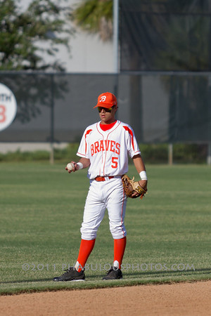 Colonial @ Boone Varsity Baseball Districts - 2011