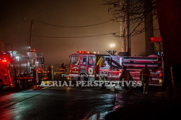 Pine Ridge Fire - Townsend Ma 2/4/19