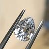 1.50ct Antique Pear Cut Diamond, GIA D VS1 3