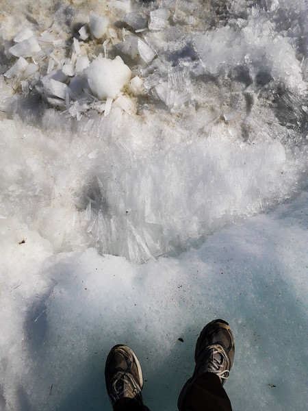 Glacier Ice Crystals