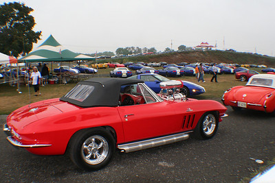 CORVETTES AT CARLISLE - Carlisle, Pa.- August 2006