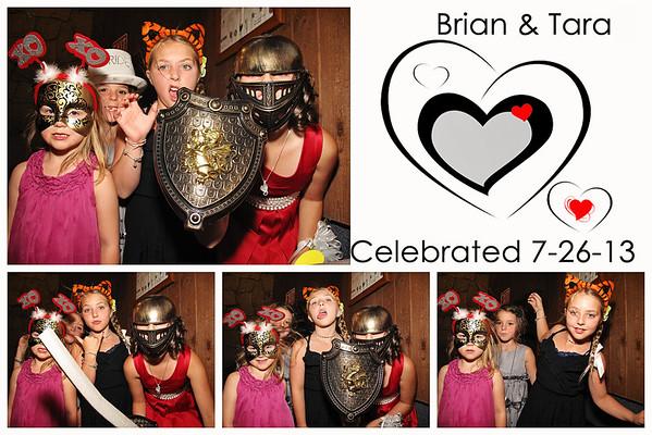 Tara & Brian Wedding Photo Booth