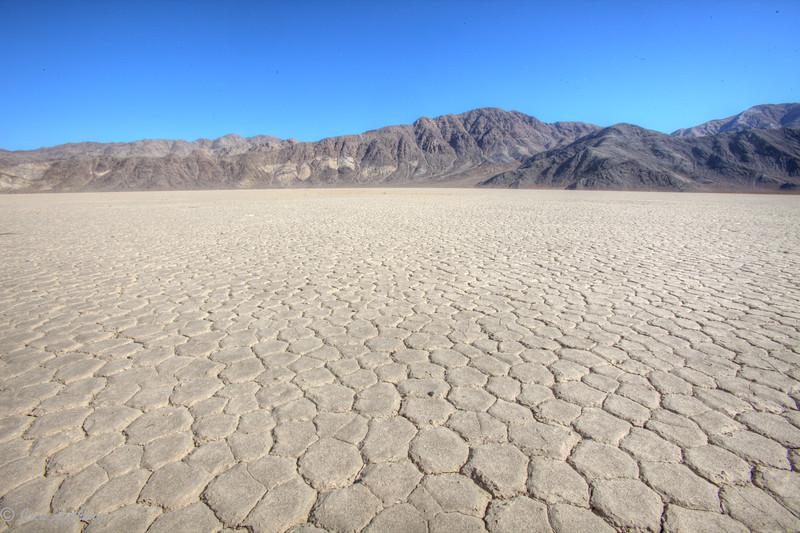 Racetrack Playa in Death Valley, CA.