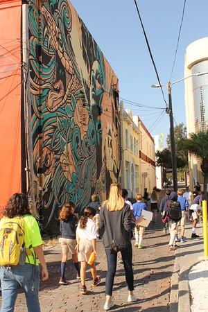 Middle School Downtown Art Walk