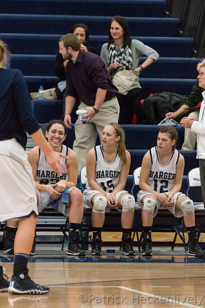 2014-01-25 Hillsdale College Women's Basketball vs. Ashland