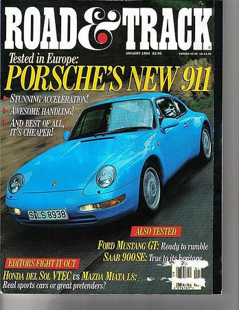 Road & Track - January 1994