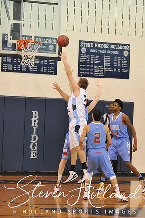 Boys Basketball - Varsity: Stone Bridge vs Marshall & Senior Night 2.11.2015 (by Steven Holland)