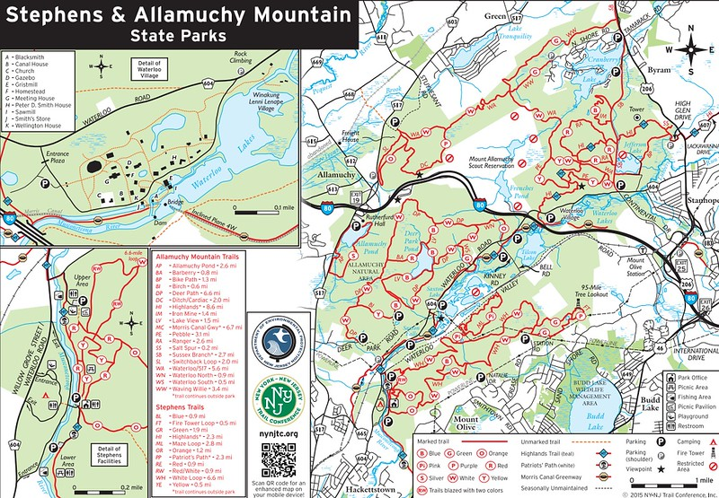 Stephens State Park (Trail Map)