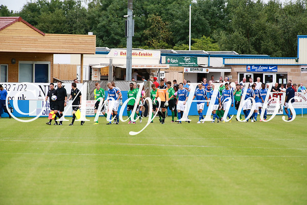 Nuneaton Town v Worcester City Friendly July 2013