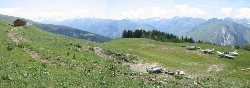 Fin de semana en los Alpes