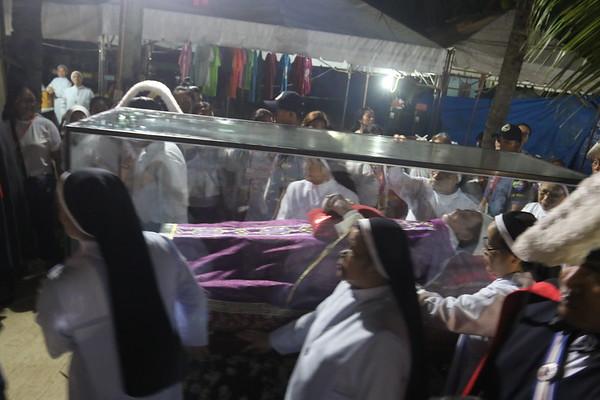 Archbishop Teofilo Camomot exhumation