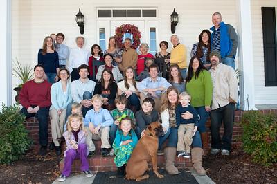 Mathis Family 25 November 2011