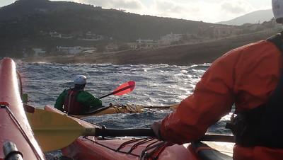 British Canoeing Sea Kayak Leaders training November 2018