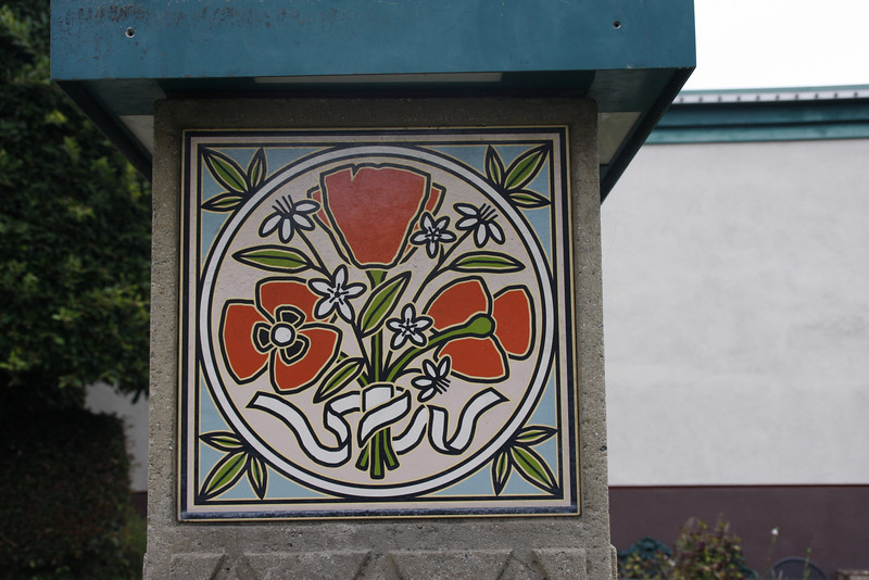 This same tile appears on all local signs.
