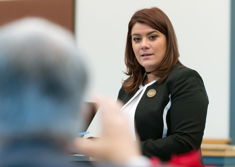 01/16/19  Wesley Bunnell | Staff  The City of New Britain Opioid Task Force met on Wednesday afternoon at city hall consisting of members from the city, state and healthcare organizations. Mayor Erin Stewart during her presentation.
