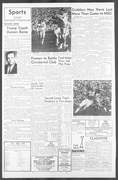 Daily Trojan, Vol. 56, No. 12, October 06, 1964