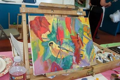 Substitute Art Classes Photos (3/4), 3/18, 3/19/15