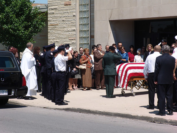 Chicago Fire Department Captain Sherwood J. Murrays Funeral