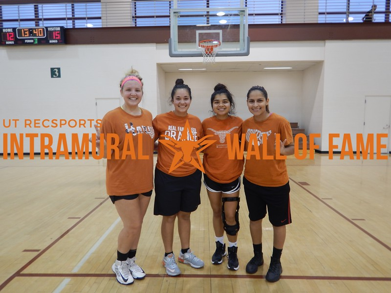 Fall 2016 Basketball 3v3 Women's Runner Up_Space Jam G's
