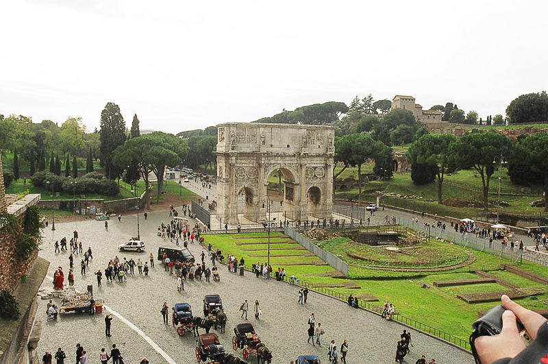 Saturday_Coloseo_Arch_of_Constantine_1