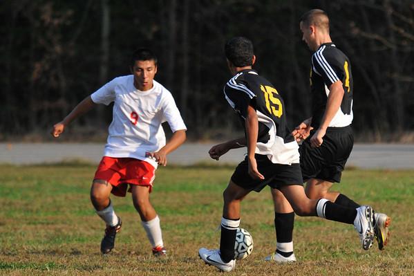 Lincolnton vs West Lincoln Soccer October 13, 2010