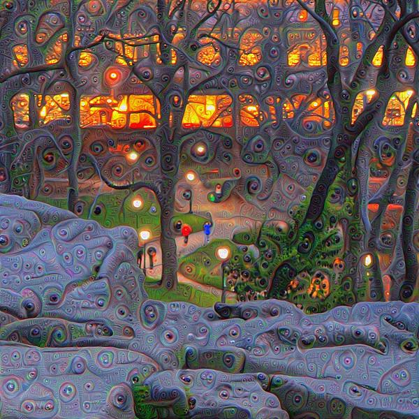 Mining Nightfall: Central Park Twilight Dreamscape Details