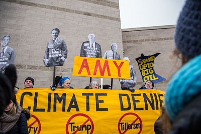 #DayAgainstDenial at Senator Amy Klobuchar's office 1/9/17