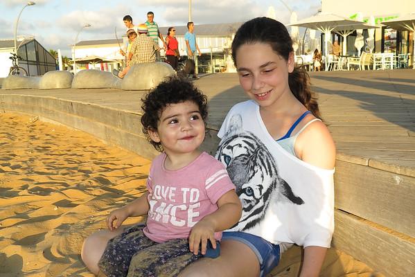 7/18: Port of Tel Aviv & Family