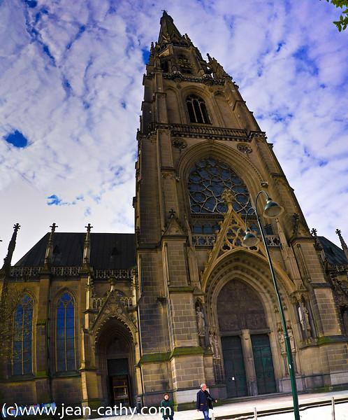Linz Church Pano2