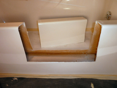 Fiberglass Gel Coat Bathtub Conversion  ... Custom Built ... in Belleville, PA