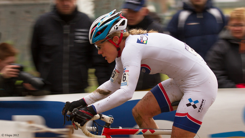 Katherine Compton wereldbekercross Heusden-Zolder 2012